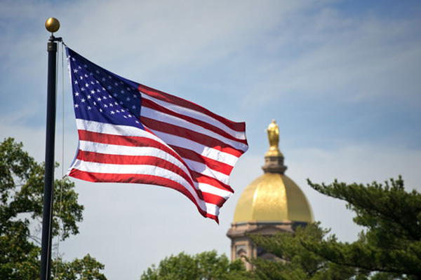 Flag And Dome